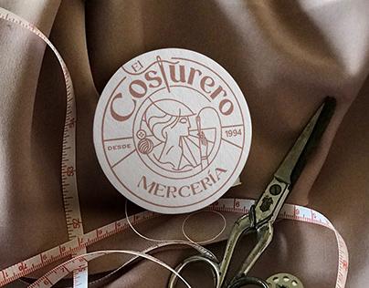 EL COSTURTERO. Haberdashery branding