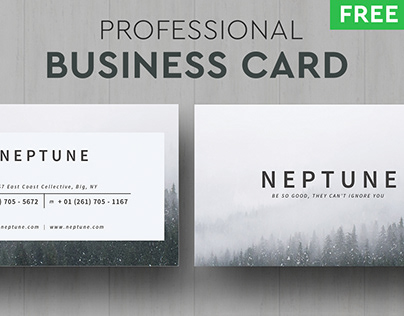 FREE Neptune Business Card