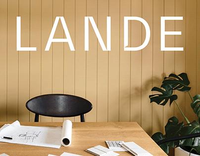 Lande Architects — Brand Identity