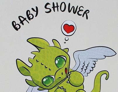 Baby Shower - Dragon