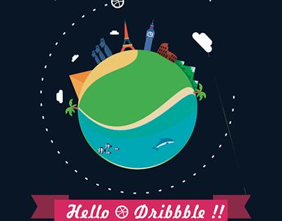 Dribbble Debut Shot / Dribbble Invite