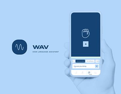 WAV - Sign Language Assistant [Product Concept]
