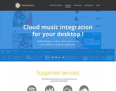 MellowPlayer - Design Interface