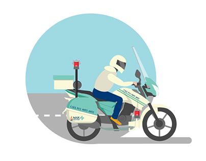Max Healthcare launches a Bike