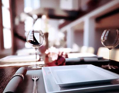 Dining room - Interior 3D Visualization