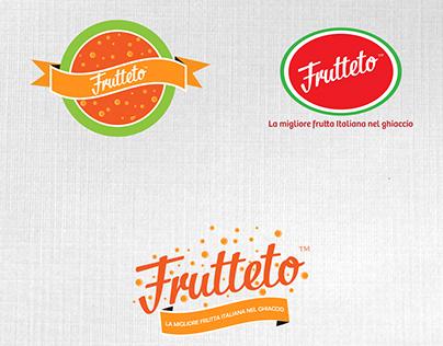 Frutteto frozen fruit snack logo redesign concept