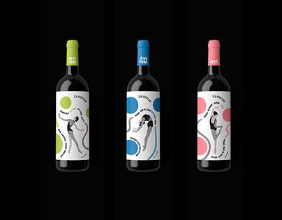 La Dance Wine Branding