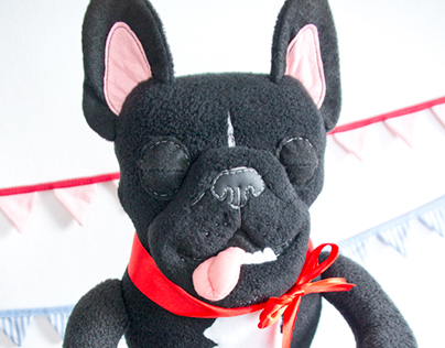 Custom dog toys based on phtos of the real dogs! 2014