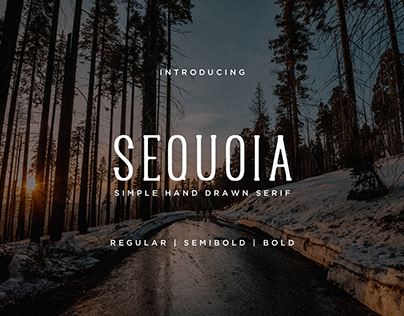 Sequoia Font + Extras (Free Font)