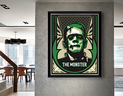 Universal Studios Monster series at Etsy