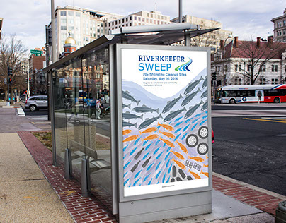 RiverKeeper SWEEP Poster Design