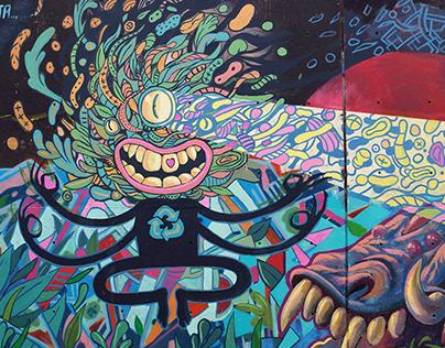 Graffiti Villa del Salvador