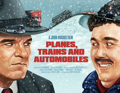 Image result for planes trains and automobiles poster