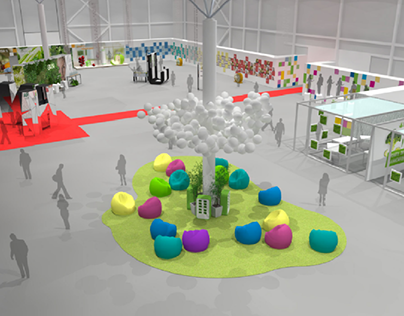 Concept exhibition space/ July 2019/Novosibirsk