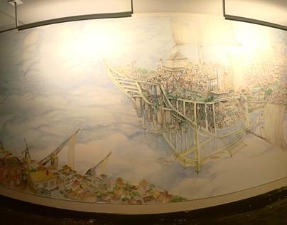 Flying Cities Mural