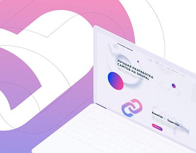 Agencies Collaboration. Landing page design