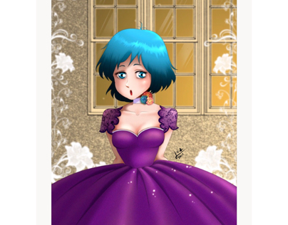 Party Girl Illustration