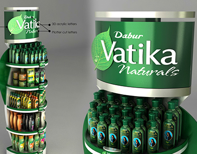 Dabur Vatika Floor Standing Unit