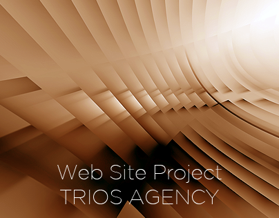 Trios Agency Web Site Project