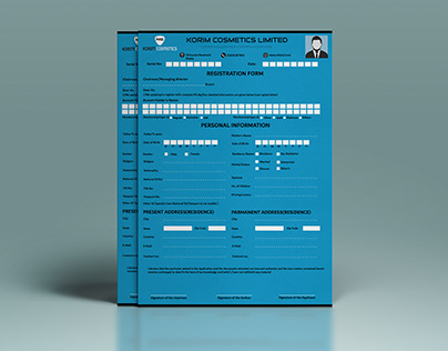 Registration Form Design
