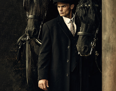 Man and his horses