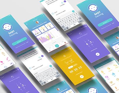 Baby Tracking App | UX/UI