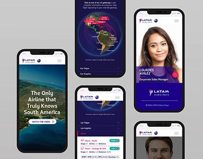 Airline Microsite