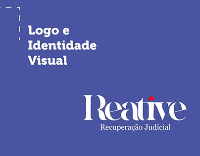 Logo e Identidade Visual - Reative