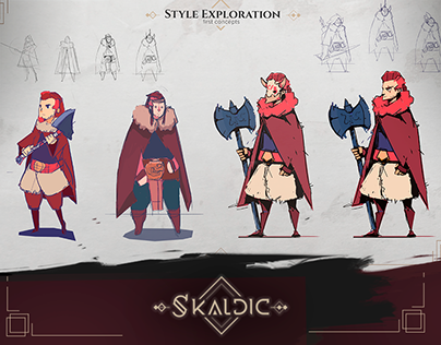 Character Design - RPG/Rhythmic Game
