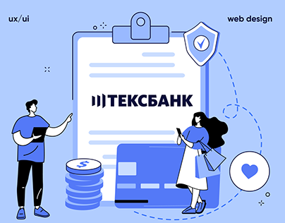 Redesign соncept bank web site