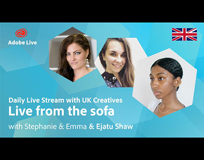 Adobe Live from the sofa UK with Ejatu Shaw