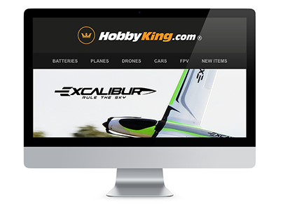 Durafly Excalibur Electronic Direct Mail Design
