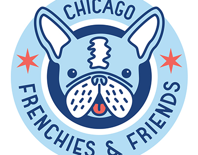 Chicago Frenchies & Friends Logo