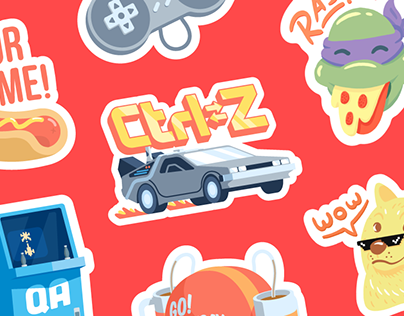 Aerostickers: free digital sticker pack - 2016