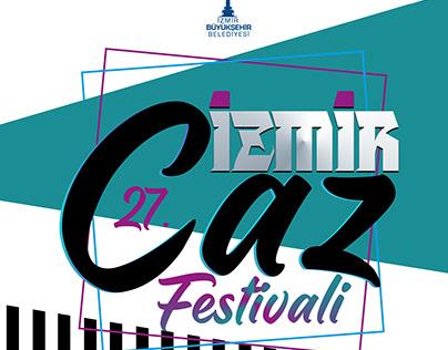 İzmir Caz(Jazz) Festivali Afiş
