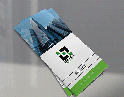 Company Price List Brochure Template