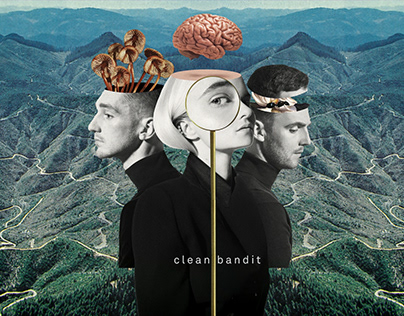 CLEAN BANDIT Collage Animation