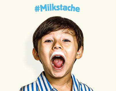 Danone - Milkstache