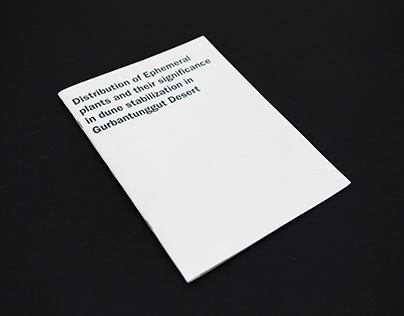 Distribution of Ephemeral Plants — Book