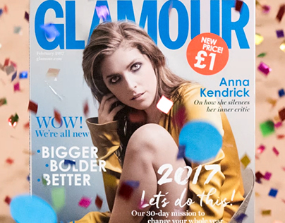 Glamour UK New Launch