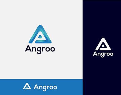 Angroo Logo Design-A Modern Letter Logo
