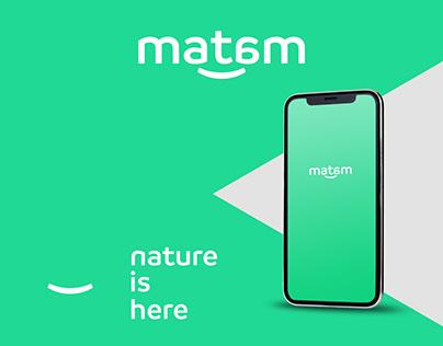 Matam mobile app ui/ux
