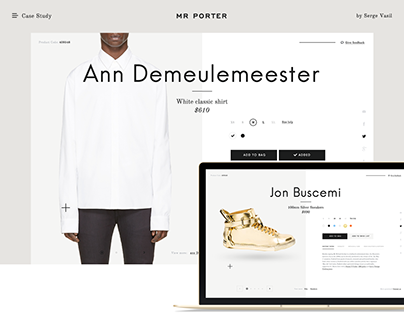 Case study: Mr Porter — Product Card Redesign