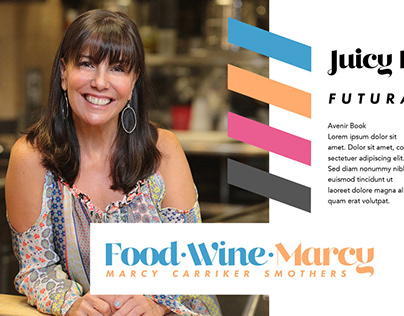Personal Brand Design: Food Wine Marcy