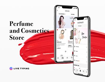 ILE DE BEAUTE — eCommerce mobile app