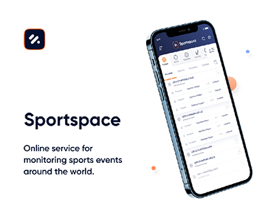 Sportspace - UI/UX - monitoring sports events