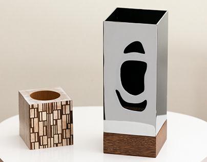 """Abajur ou Escultura """"Navegador"""" (200144-1005)"""