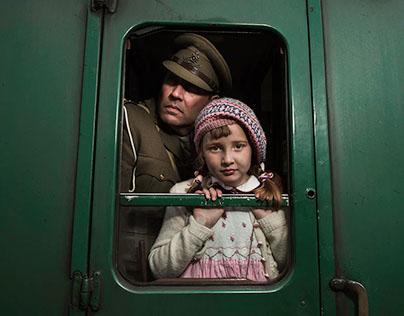 Train Journey 1940
