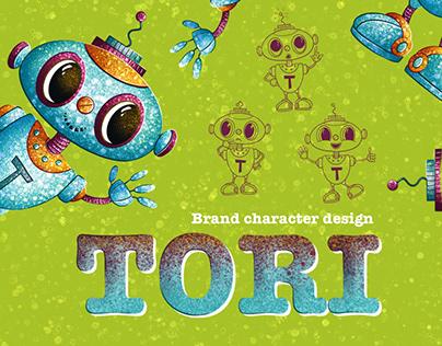 Brand character design for online school: TORI
