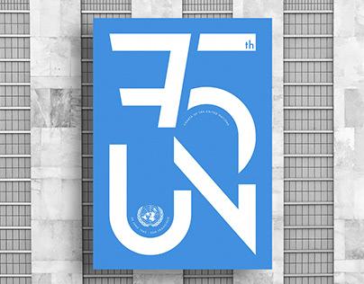 UN 75 - 75th Anniversary - POSTER